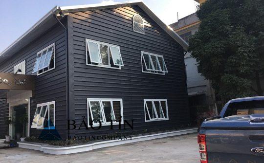 Nhà lắp ghép panel 2 tầng