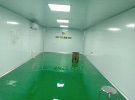 Hình ảnh thực tế thi công phòng sạch sản xuất thực phẩm, bột ngũ cốc