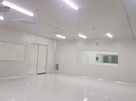 Thi công tấm Panel EPS- Nhà máy Sanaky Thường Tín