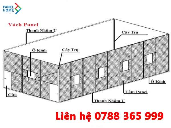 Panel Home chuyên phân phối tấm panel, phụ kiện tấm panel cách nhiệt, báo giá phụ kiện vách panel chính hãng, thi công vách panel eps, vách panel chống cháy